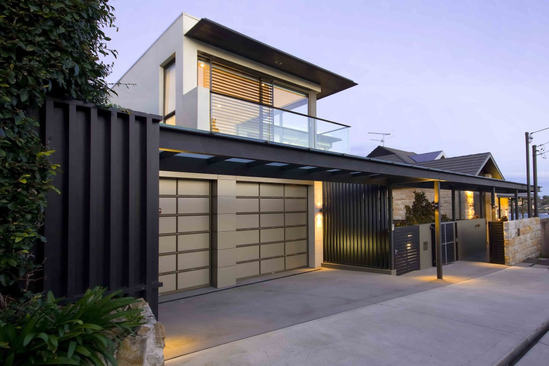 Hunters Hill-Residence-front view