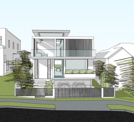 TENNYSON POINT RESIDENCE 02 - FRONT VIEW