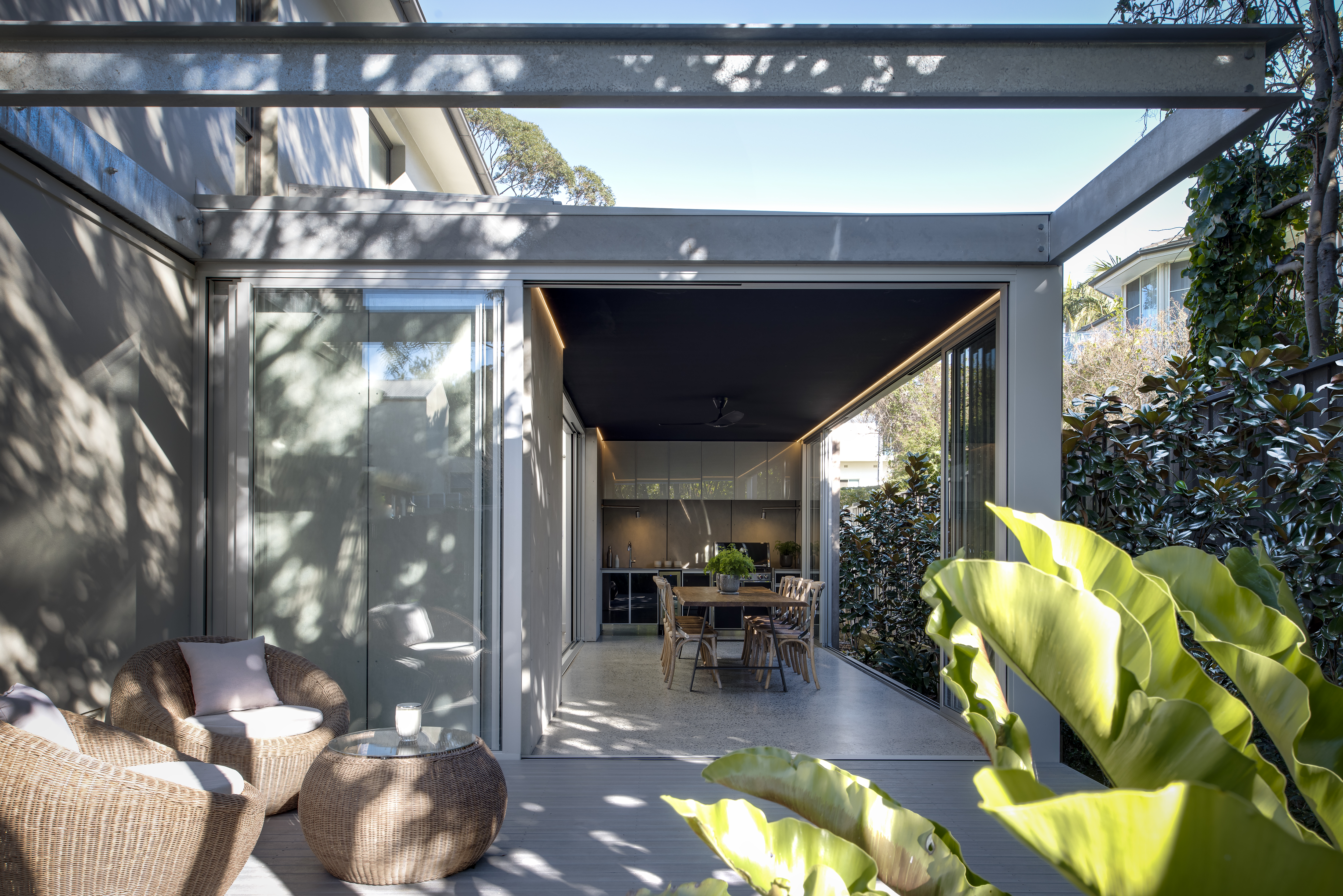 70 Henley Residence – Deck view
