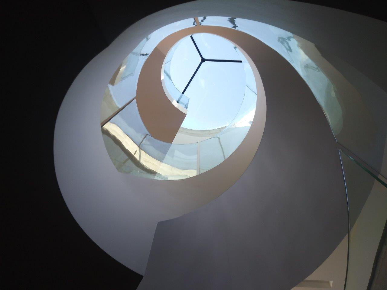10 Tennyson Point House – Spiral Stair & Skylight
