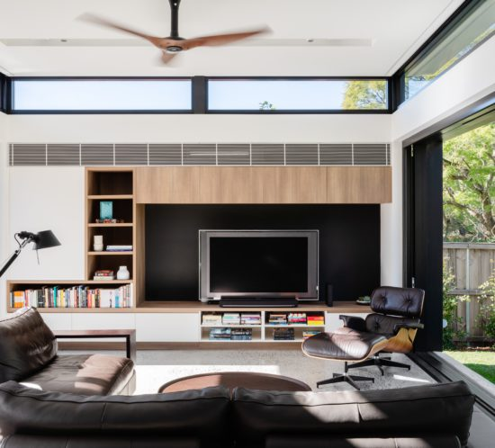 Epping House Living Room - studioJLA - Justin Loe Architects