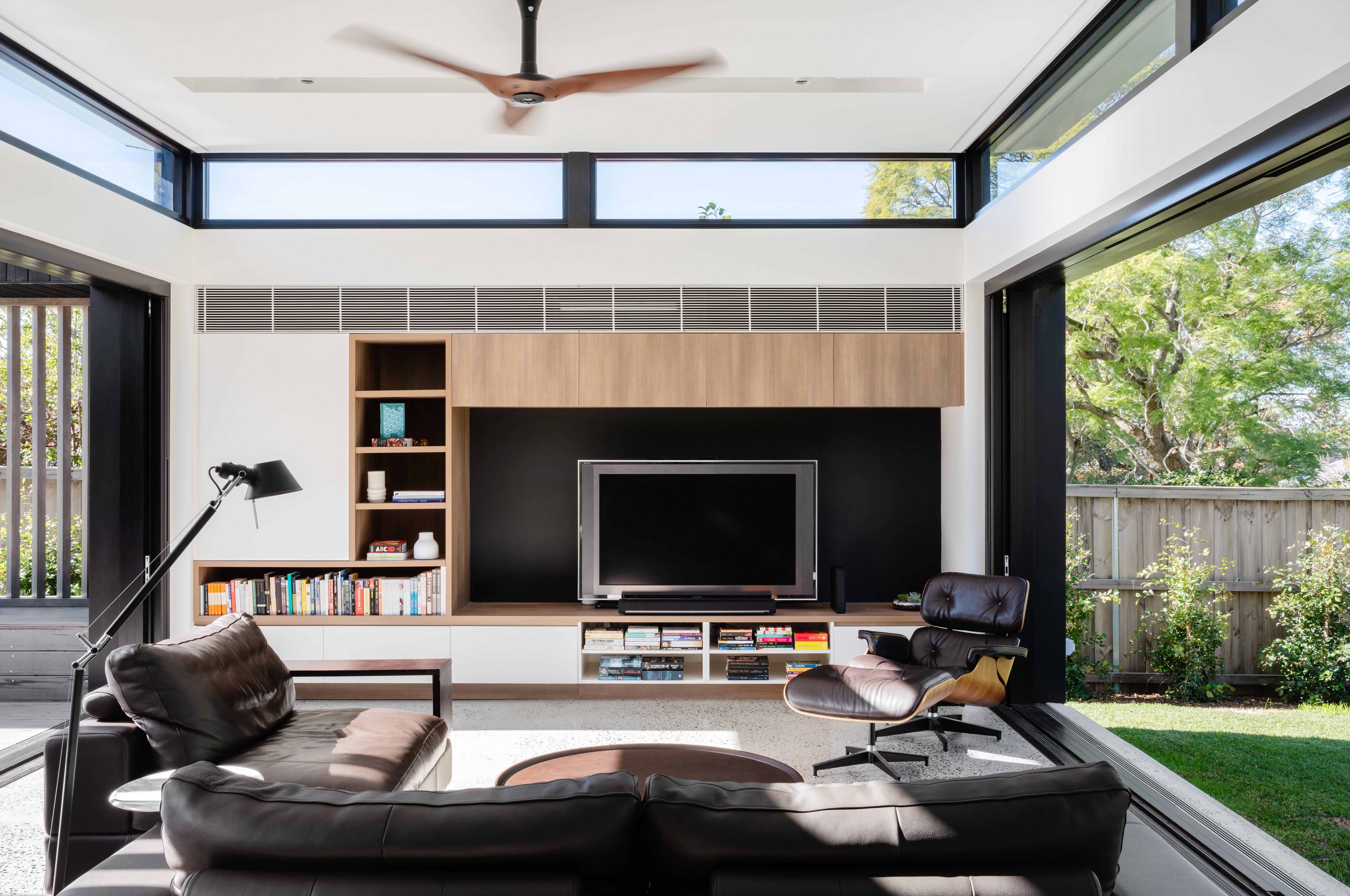 Epping House Living Room - studioJLA - Justin Loe Architects