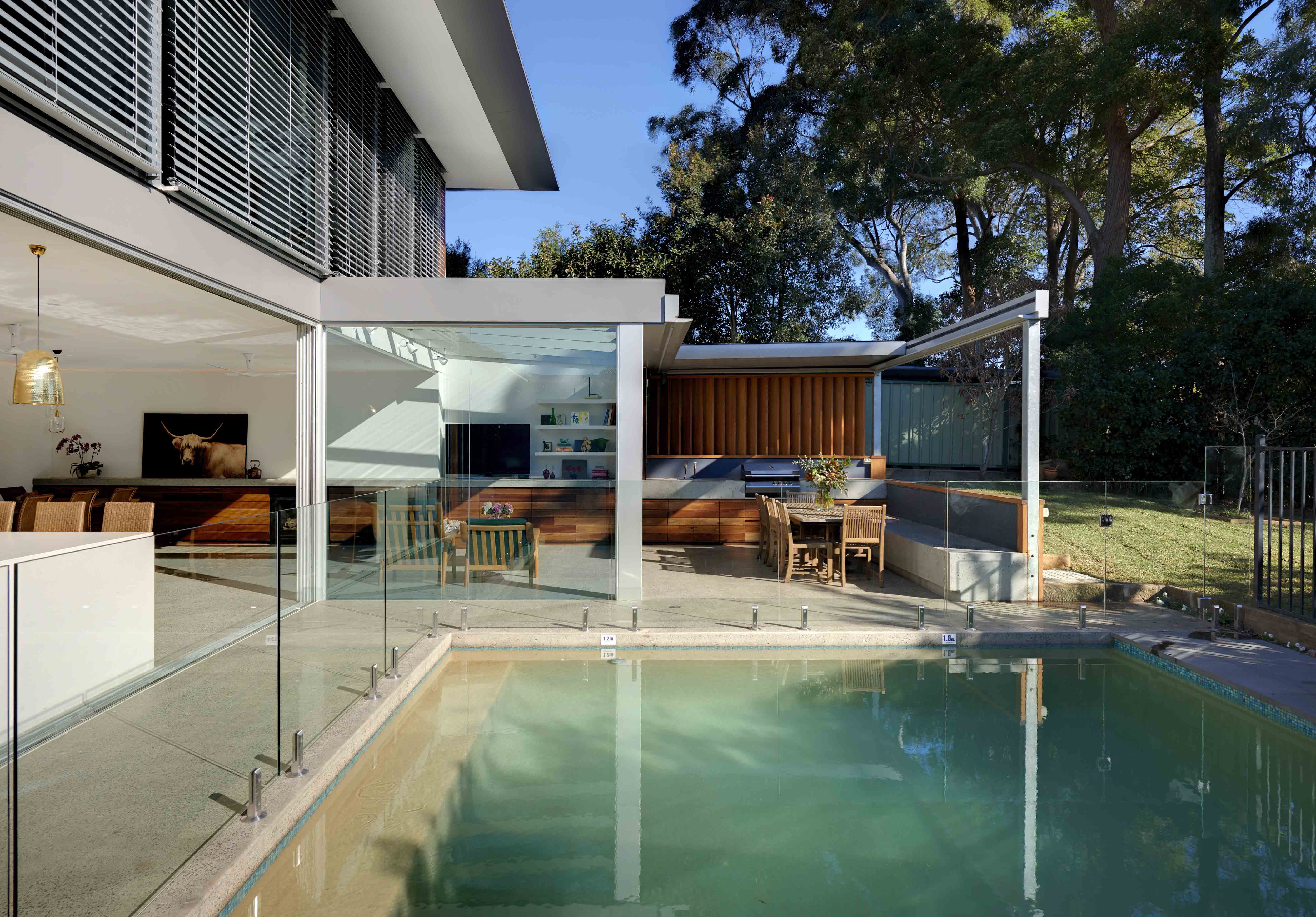 35 Gladesville House – Exterior-pool