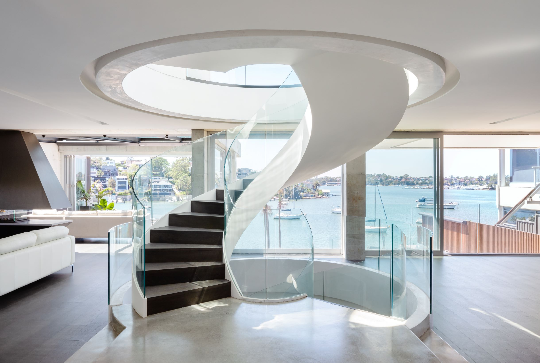 12 Tennyson Point House – Stair sculpture